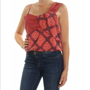 FREE PEOPLE Call On Me Overlaying Wrap Tank Top